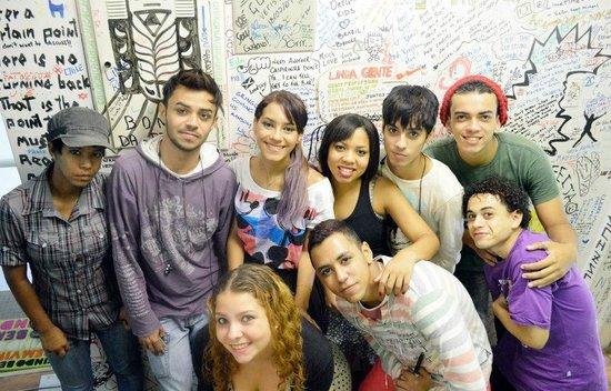 LimeTime Hostels - Paulista : Foto tirada na minha primeira vez no LimeTime.