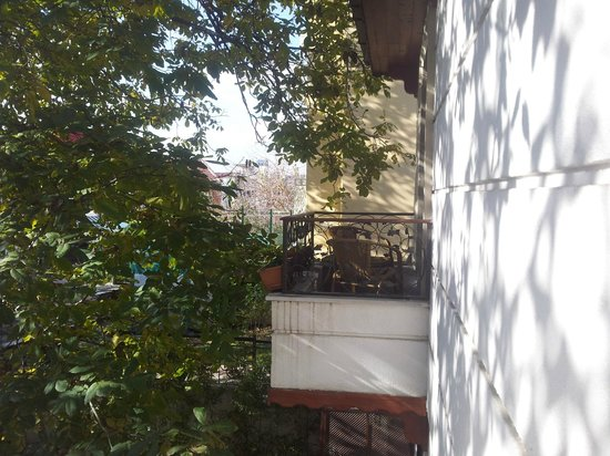 Garden House Istanbul: Balcony
