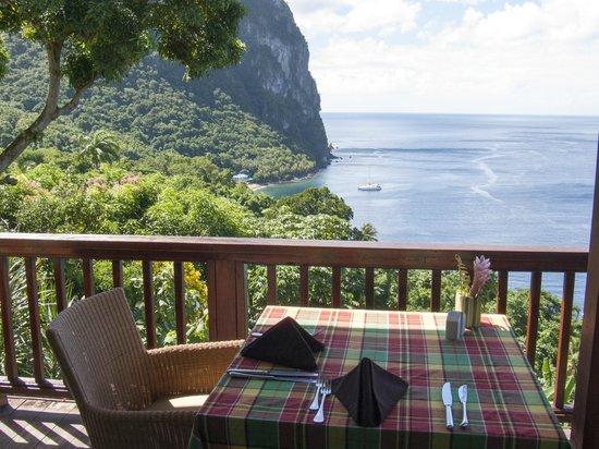 Stonefield Estate Resort: Frühstücks-Terrasse