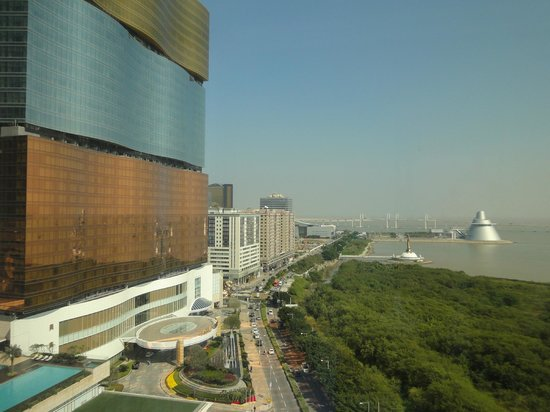 Mandarin Oriental Macau : 套房外景觀
