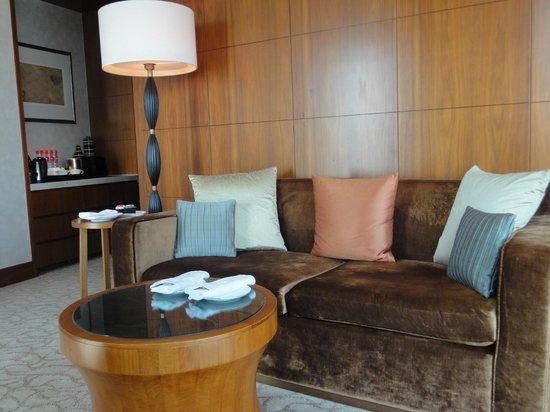 Mandarin Oriental Macau : 套房客廳