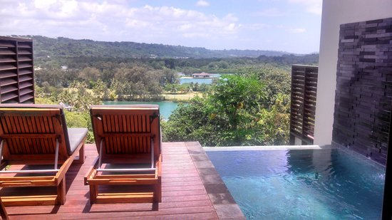 Mangoes Resort: View from our room