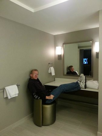 WinStar World Casino Hotel: dressing area