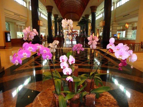 Sama-Sama Hotel KL International Airport: Orchid Display - Foyer Sama Sama