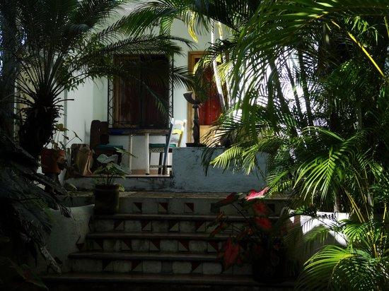 Villa Mozart y Macondo: habitación al jardín