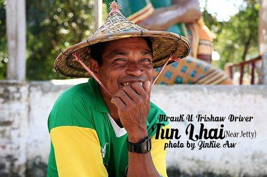 Mrauk U Trishaw Driver, Tun Hlai