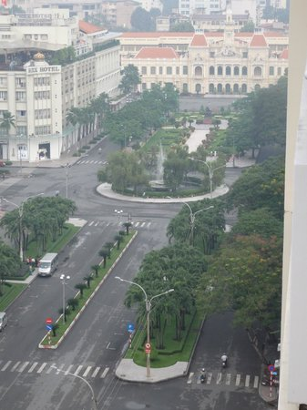 Palace Hotel Saigon: From the balcony