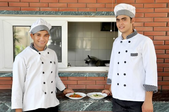 The Perch Service Apartments: Our in house chefs