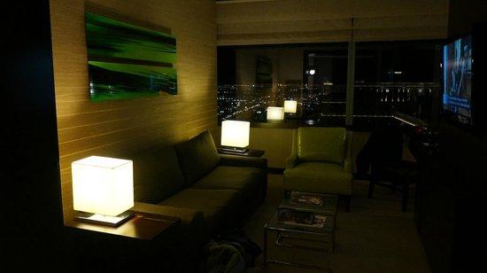 Vdara Hotel & Spa: Sitting Room