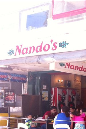 Nando's: outside view