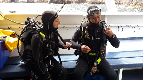 Dive Tutukaka: Me and DM Jo