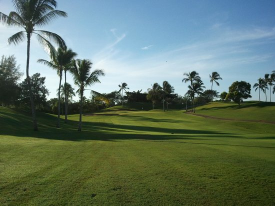 Ko Olina Golf Club: early morning tee time