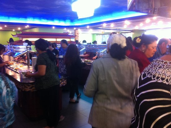 Asian King Buffet: People know what is good one.