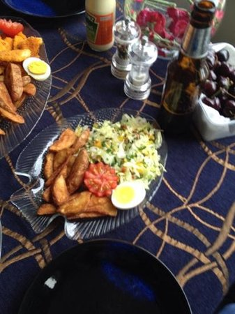 Mike & Jennys Kaka Point Accommodation: Wow and tasted as good as it looks