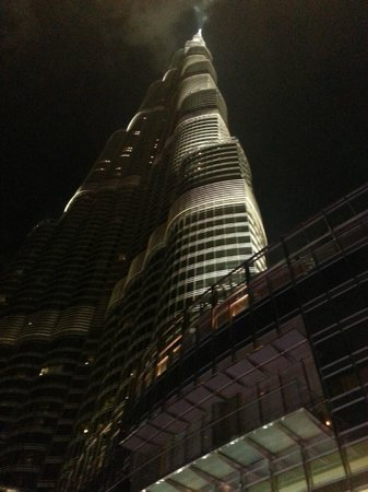 Armani Hotel Dubai: A look from the bottom of the top of the world.