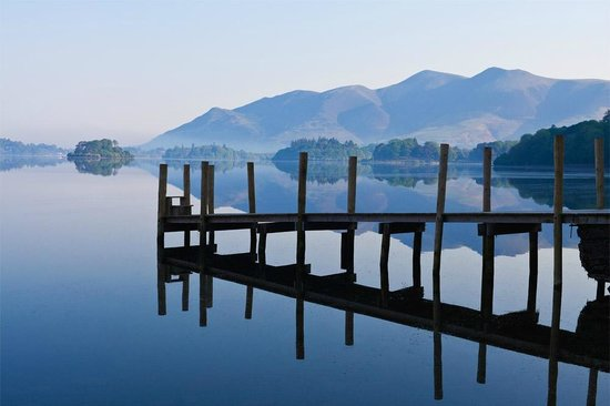 Rothay Manor Hotel: this was taken at Derwentwater, one of the locations we visited