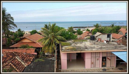 Ocean Pearl Hotel: View at breakfast