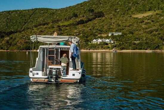 Knysna, Afrique du Sud : Houseboat rear view
