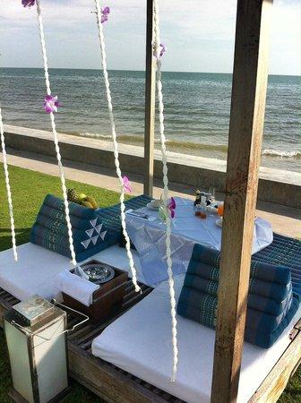 Oceanside Beach Club & Restaurant : Private Breakfast