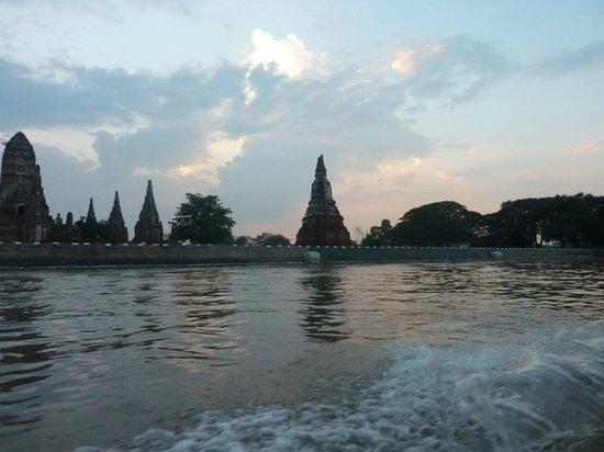 Chao Phraya River : Chao Praya Ayutthaya