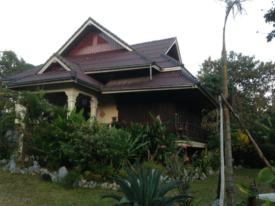 Vang Vieng Boutique Resort : Exterior of one of the accommodations