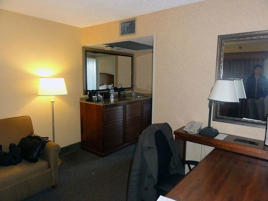 Embassy Suites by Hilton Hotel San Francisco Airport (SFO) - Waterfront : Living Room