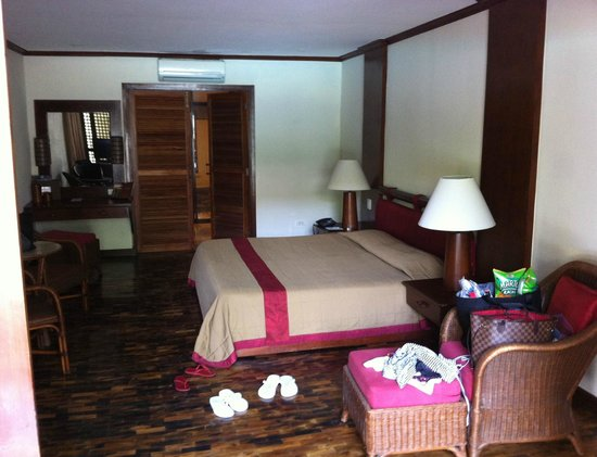 Bluewater Maribago Beach Resort : Amuma Spa Suite room