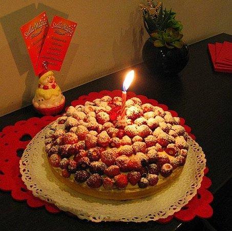 B&B la Casa di Patty: Questa torta era di una fantastica delicatezza che non scorderò.