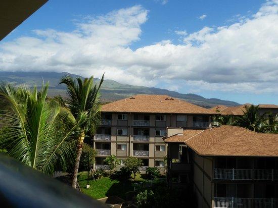Maui Coast Hotel: uitzicht berg/vulkaan