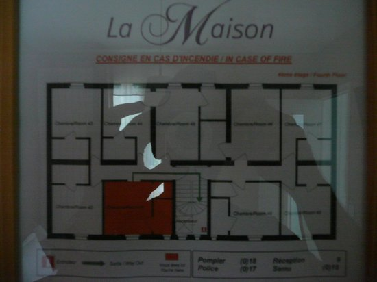 La Maison Montparnasse : Lageplan