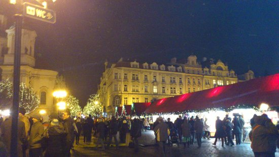 Hotel Hastal Prague Old Town: Christmas markets