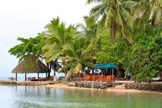 Toberua Island Resort: the resort