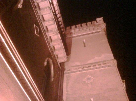 Grand Hotel Villa Igiea - MGallery by Sofitel: floodlit ramparts seen from the balcony