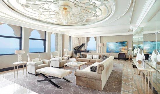 Waldorf Astoria Ras Al Khaimah - Imperial Suite Living Room