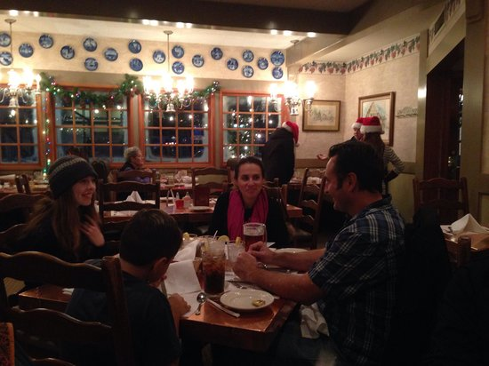 "Bit O'Denmark Restaurant: Foreigners From Europe Enjoying ""Bit 'O Denmark Restaurant In Solvang, CA"