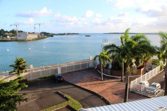 Hotel Saint John Perse: Blick vom Minibalkon
