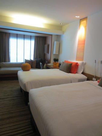 Dusit D2 Chiang Mai: habitacion