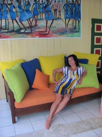 Negril Palms Hotel : зона отдыха в отеле