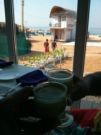 "The Park Calangute Goa: The Breakfast Bar on the lines of the ""Love"" Bar"