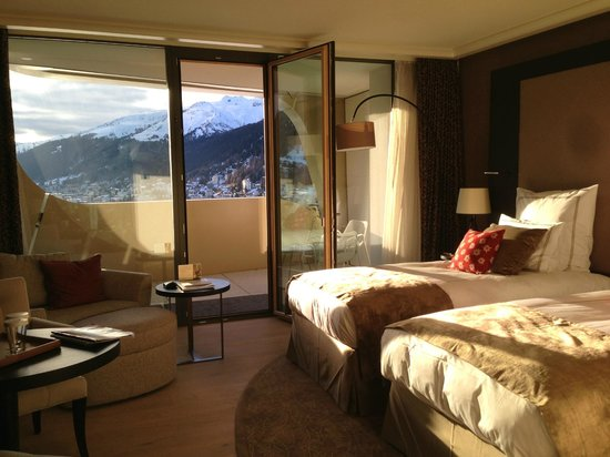 InterContinental Davos Hotel : My Room