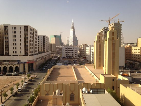 Al Waha Palace Hotel : View from 6th floor