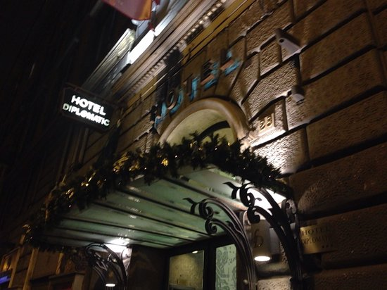 Hotel Diplomatic : Ingresso