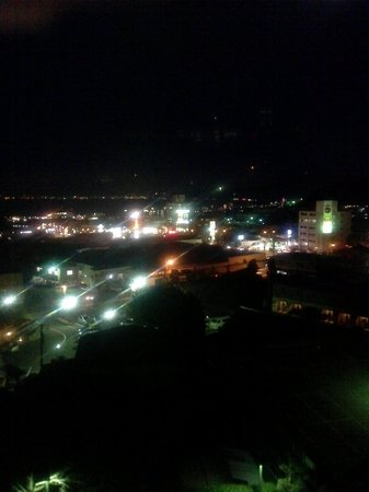 Hotel Fugetsu Hammond : ハモンド館306号室から見た夜景