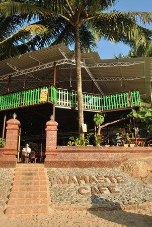 Namaste Cafe: the restaurant