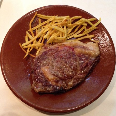 Restaurante Castilla: Entrecot!