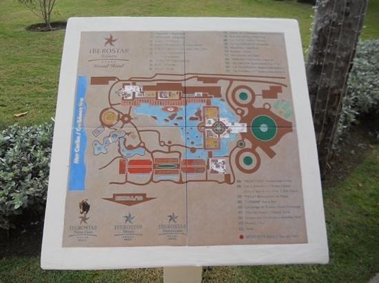 Iberostar Grand Hotel Bavaro : map