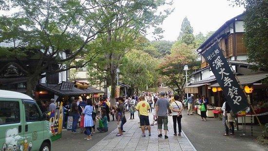 Jindai-ji Temple : 深大寺参道