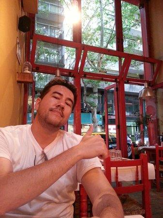 La Cholita: Dentro do restaurante