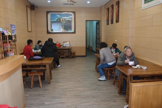 Dream House B&B : Entrance; we were having breakfast
