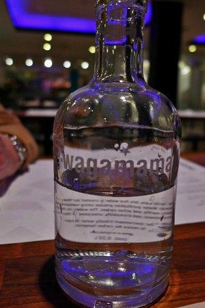 Wagamama: Wasserflasche
